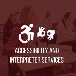 Accessibility and Interpreter Requests